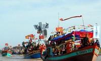 Reconnaissance de la fête Nghinh Ong de la commune Binh Thang (Ben Tre)