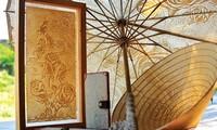 Le peintre Phan Hai Bang, inventeur du papier en bambou
