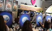 Être peintre après seulement trois heures d'initiation