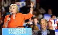 USA 2016-Clinton devance Trump d'environ sept points-sondage