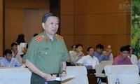 Le comité permanent de l'AN discute de la loi sur les gardiens de la paix