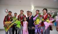 Retour triomphal de la délégation sportive vietnamienne des JO de Rio