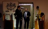 François Hollande est arrivé au Vietnam