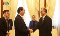 Tran Dai Quang reçoit l'ambassadeur du Maroc