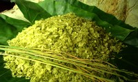 Variations gastronomiques du jeune riz gluant