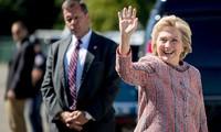 Retour en campagne pour Hillary Clinton