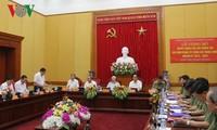 Nomination de la Commission centrale du Parti pour la Sécurité publique