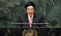 Pham Binh Minh : le Vietnam promeut le droit au développement