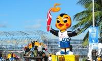 Coup d'envoi des 5èmes Jeux de plage asiatiques à Danang