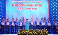 Remise des prix Nguyên Van Trôi aux meilleurs ouvriers