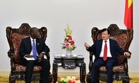 Trinh Dinh Dung rencontre Ousmane Dione