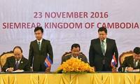 Déclaration commune du 9ème Sommet du Triangle de Développement CLV