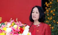 La cheffe de la commission centrale de sensibilisation à Can Tho
