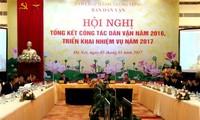 Visio-conférence sur la sensibilisation de la population