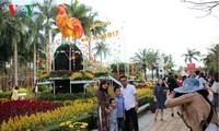 Les touristes en hausse à Dà Nang