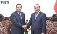 Nguyen Xuan Phuc reçoit les ambassadeurs du Maroc et du Timor oriental
