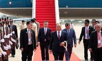 Le Premier ministre Nguyen Xuan Phuc est arrivé à Phnom Penh