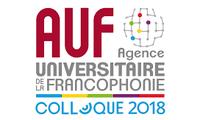 Colloque annuel de l'AUF 2018