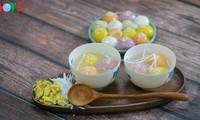 Fête des aliments froids: Les boulettes colorées