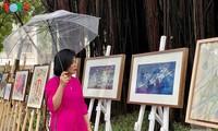 Exposition de peintures créées durant la distanciation sociale