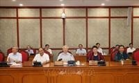 Nguyên Phu Trong rencontre le comité du Parti de la province de Thanh Hoa
