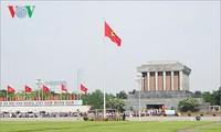 Le mausolée du Président Hô Chi Minh