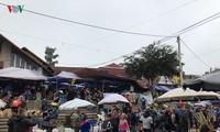 Le marché de Bac Hà
