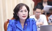 La première femme à occuper le poste de gouverneur de la Banque d'État au Vietnam