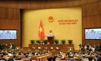 Publication de 14 résolutions adoptées récemment par l'Assemblée nationale