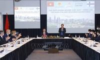 Table ronde des entreprises Vietnam-Finlande