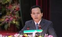 Rombongan kerja Komite Pemeriksaan KS PKV  melakukan  kunjungan kerja di provinsi Bac Lieu.
