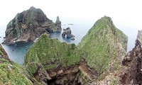 Republik Korea membatalkan latihan mendarat ke pulau yang dipersengketakan dengan Jepang.