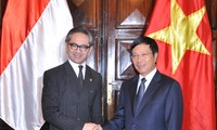 Vietnam dan Indonesia melakukan Konferensi ke-6 Komite Gabungan Ekonomi, Ilmu Pengetahuan dan Teknik.