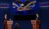 Calon presiden Mitt Romney mengungguli Presiden infungsi Barack Obama dalam Pemilihan Umum Presiden Amerika Serikat 2012.