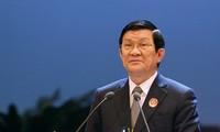 """Rapat umum memperingati ultah ke-40 """"Kemenangan Hanoi-Dien Bien Phu di udara"""""""