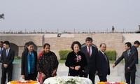 Wakil Ketua Majelis Nasional Vietnam Nguyen Thi Kim Ngan melanjutkan kunjungan kerja di India