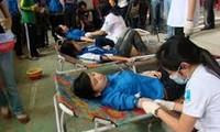 Kota Da Nang dan provinsi Tuyen Quang menyambut hari seluruh rakyat menyumbangkan darah sukarela