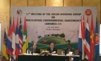 Konferensi ke-17 Kelompok Kerja ASEAN tentang konvensi-konvensi multilateral mengenai lingkungan hidup
