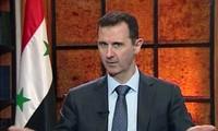Presiden Suriah menegaskan tekad membasmi terorisme