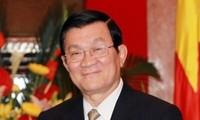 Presiden Truong Tan Sang mengirimkan surat sehubungan dengan pembukaan tahun ajar baru