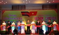 Pembukaan Pekan Raya Perdagangan Vietnam-Kamboja 2013.
