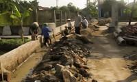 Kecamatan Dong Tho mengembangkan tenaga rakyat dalam pembangunan pedesaan baru