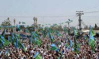 Ribuan demonstran Paksitan memblokade jalur suplai kepada NATO