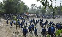 Kaum remaja provinsi Bac Ninh berpadu tenaga membangun pedesaan baru