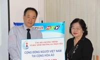 Komunitas diaspora Vietnam di Austria memberikan bantuan sebesar Euro 1.000 untuk membangun sekolahan di kecamatan pulau Sinh Ton