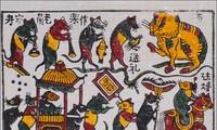 Warna musim semi dalam lukisan rakyat tradisional Dong Ho pada Hari Raya Tet