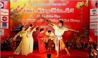 Kaum diaspora Vietnam di luar negeri merayakan Hari Raya Tet trasional.