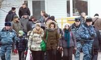 Polisi Rusia menyelamatkan lebih dari 20 sandera di satu sekolah di kota Moskwa