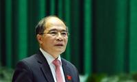 Selar baru dari Majelis Nasional Vietnam di parlementer internasional