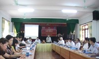 Lokakarya tentang indeks hasil-guna komisiris dan administrasi publik tingkat provinsi di Vietnam.